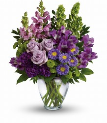 Lavender Charm Bouquet from Carl Johnsen Florist in Beaumont, TX